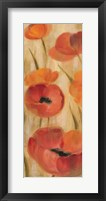 May Floral Panel II Framed Print