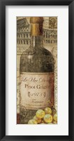 European Wines I Framed Print