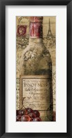 European Wines II Framed Print
