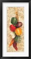 Mixed Vegetables I Framed Print