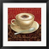 Framed Coffee Talk I