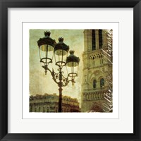 Golden Age of Paris IV Framed Print