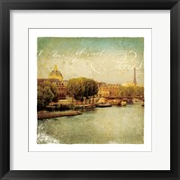 Framed Golden Age of Paris V