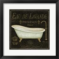 Bain De Luxe I Framed Print