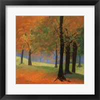 Framed Autumn Trees