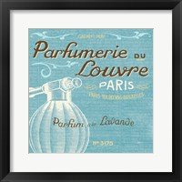 Indulge Yourself Aqua II Framed Print