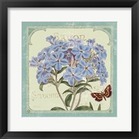 Parisian Flower  II Framed Print