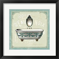 Parisian Bath I Framed Print