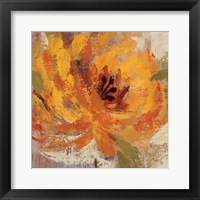 Framed Fiery Dahlias I