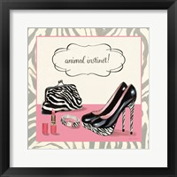 Animal Instinct Framed Print
