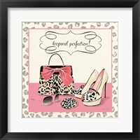 Leopard Perfection Framed Print
