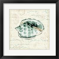Ocean Prints I Framed Print