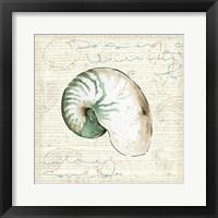 Ocean Prints III Framed Print