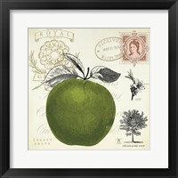 Apple Notes Framed Print