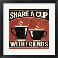Coffee Roasters III Framed Print