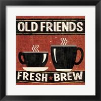 Coffee Roasters IV Framed Print