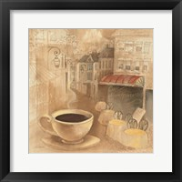 Cafe de Paris I Framed Print