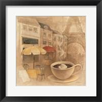 Cafe de Paris II Framed Print