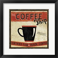 Coffee Roasters II Framed Print
