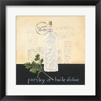 Huile d Olive I Framed Print