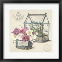Bouquet Naturel II Framed Print