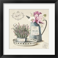 Bouquet Naturel III Framed Print