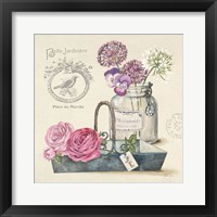 Bouquet Naturel IV Framed Print