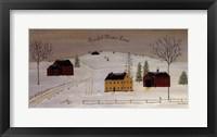 Framed Peaceful Winter Land