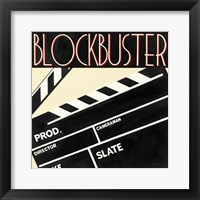 Blockbuster Framed Print