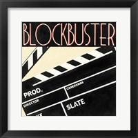Blockbuster Framed Print