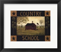 Framed Country School