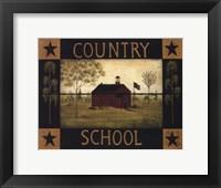 Framed Country School