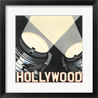Hollywood Framed Print