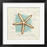 Framed Coastal Jewels IV
