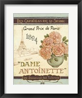 French Seed Packet II Framed Print