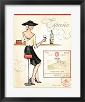 Wine Event I Framed Print