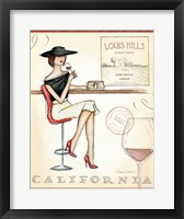 Wine Event II Framed Print