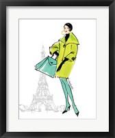 Colorful Fashion II - Paris Framed Print