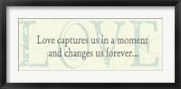 Framed Love captures us