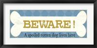 Framed Beware