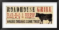 Roadhouse Grill Framed Print
