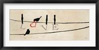 Bird at Heart II Framed Print