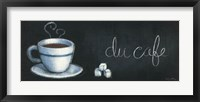 Chalkboard Menu I - Cafe Framed Print