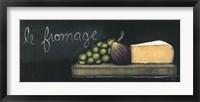 Chalkboard Menu III - Fromage Framed Print