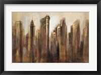 Framed Flatiron Skyline