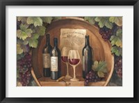 At the Winery Framed Print