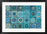 Framed Underwater Mosaic