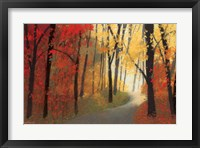 Framed Autumn Road