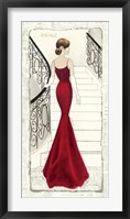 La Belle Rouge Framed Print