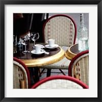 Framed Outdoor Cafe
